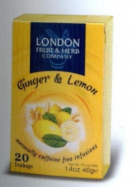 LONDON PZ.20 INFUSI LEMON GINGER